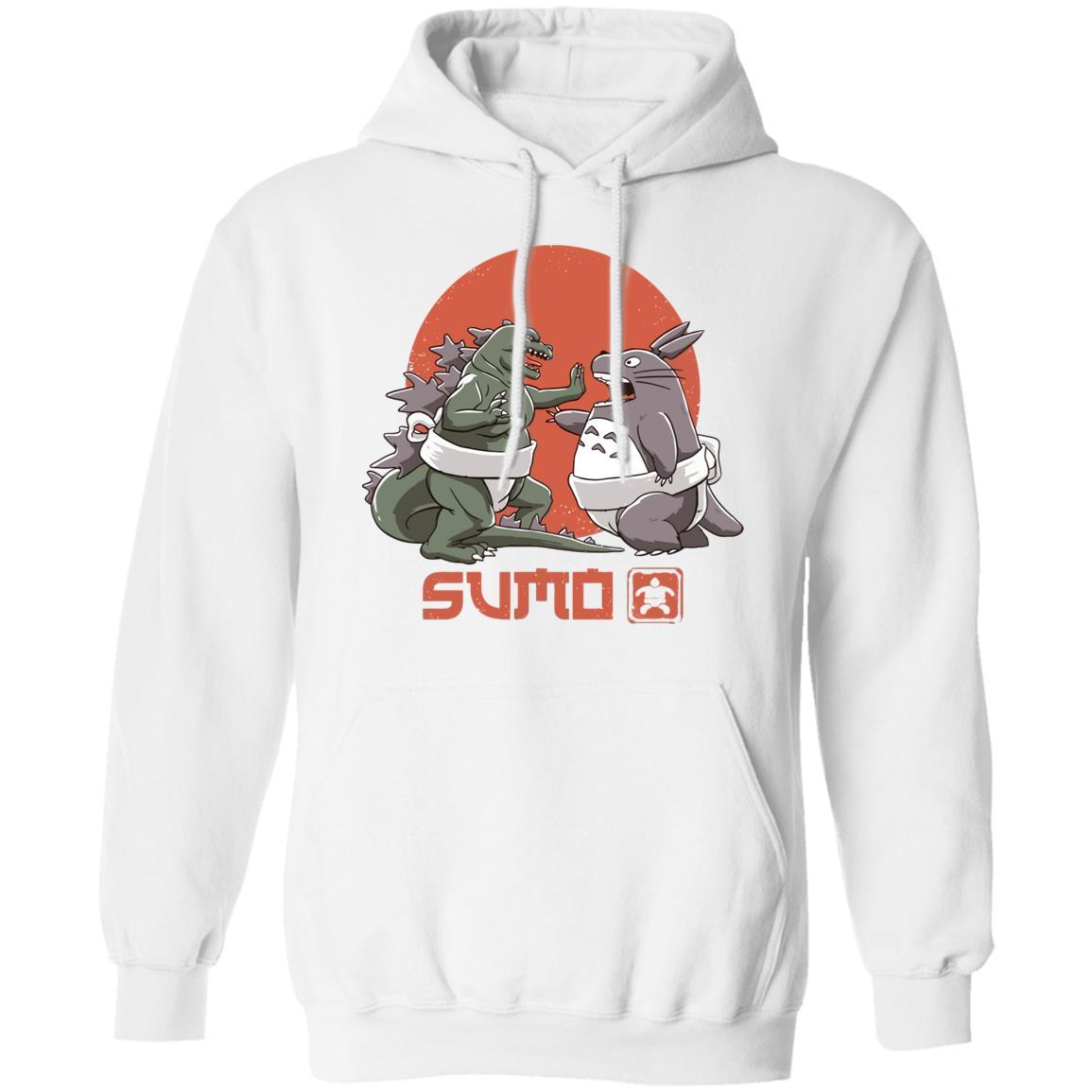Totoro vs. Godzilla Sumo Hoodie
