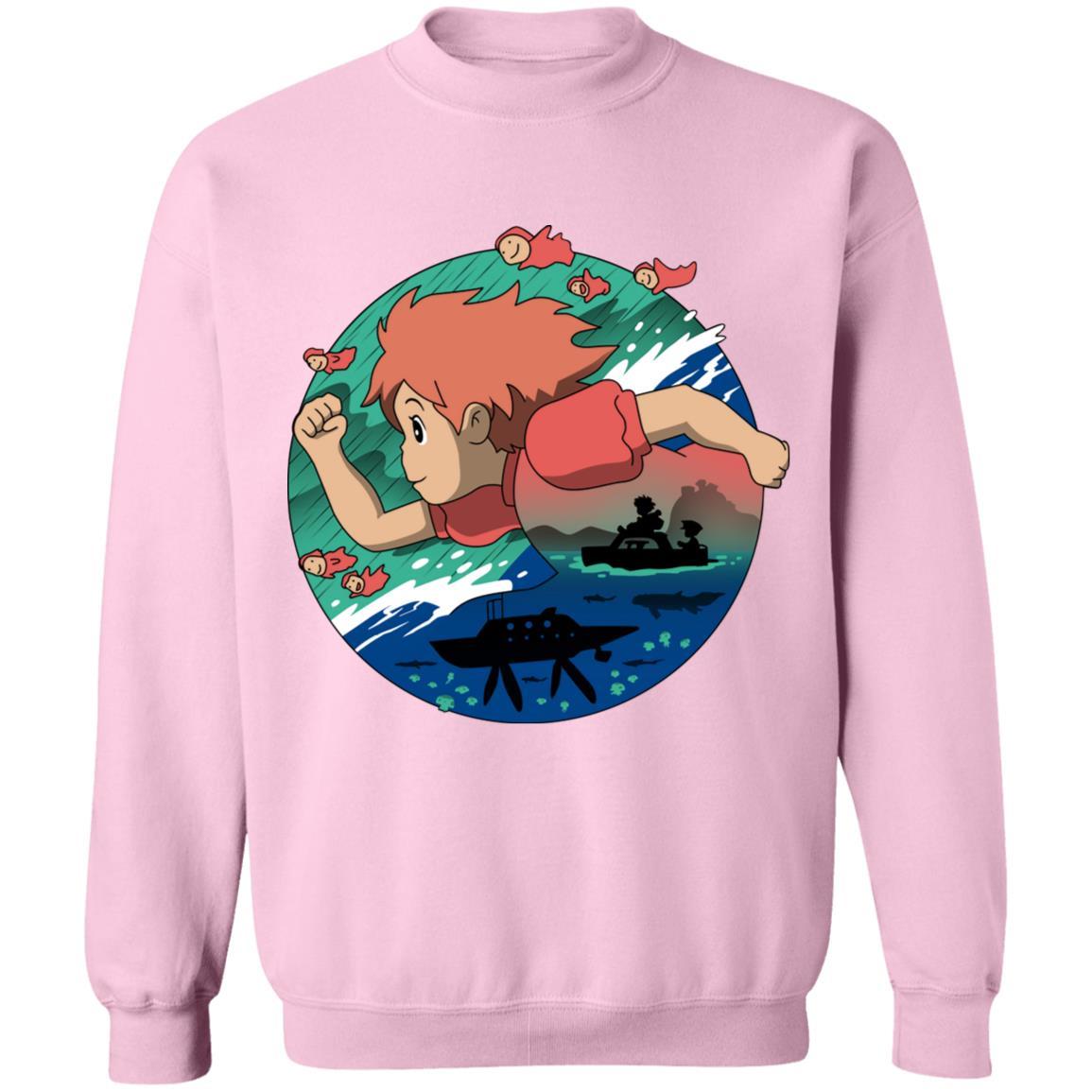 Ponyo's Journey Sweatshirt