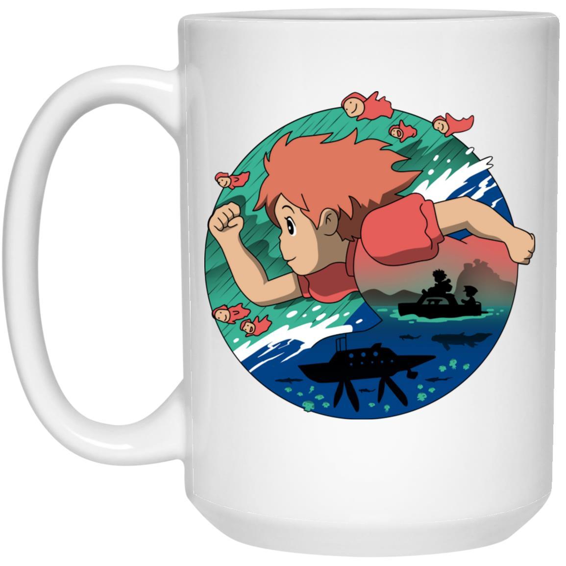 Ponyo's Journey Mug
