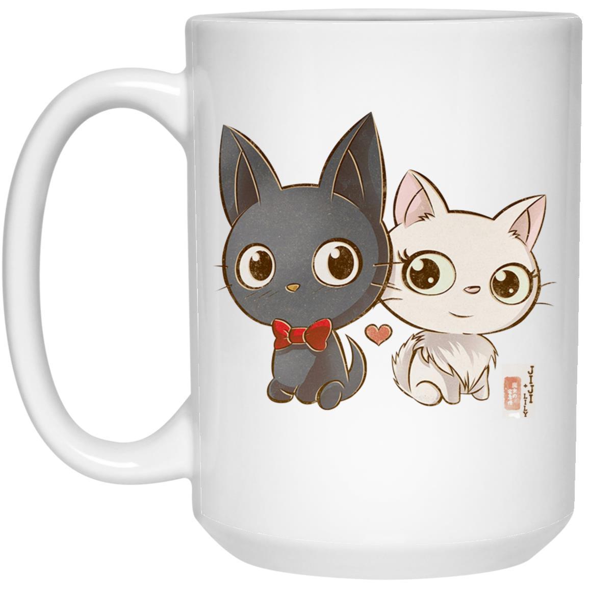 Kiki's Delivery Service – Jiji and Lily Chibi  Mug