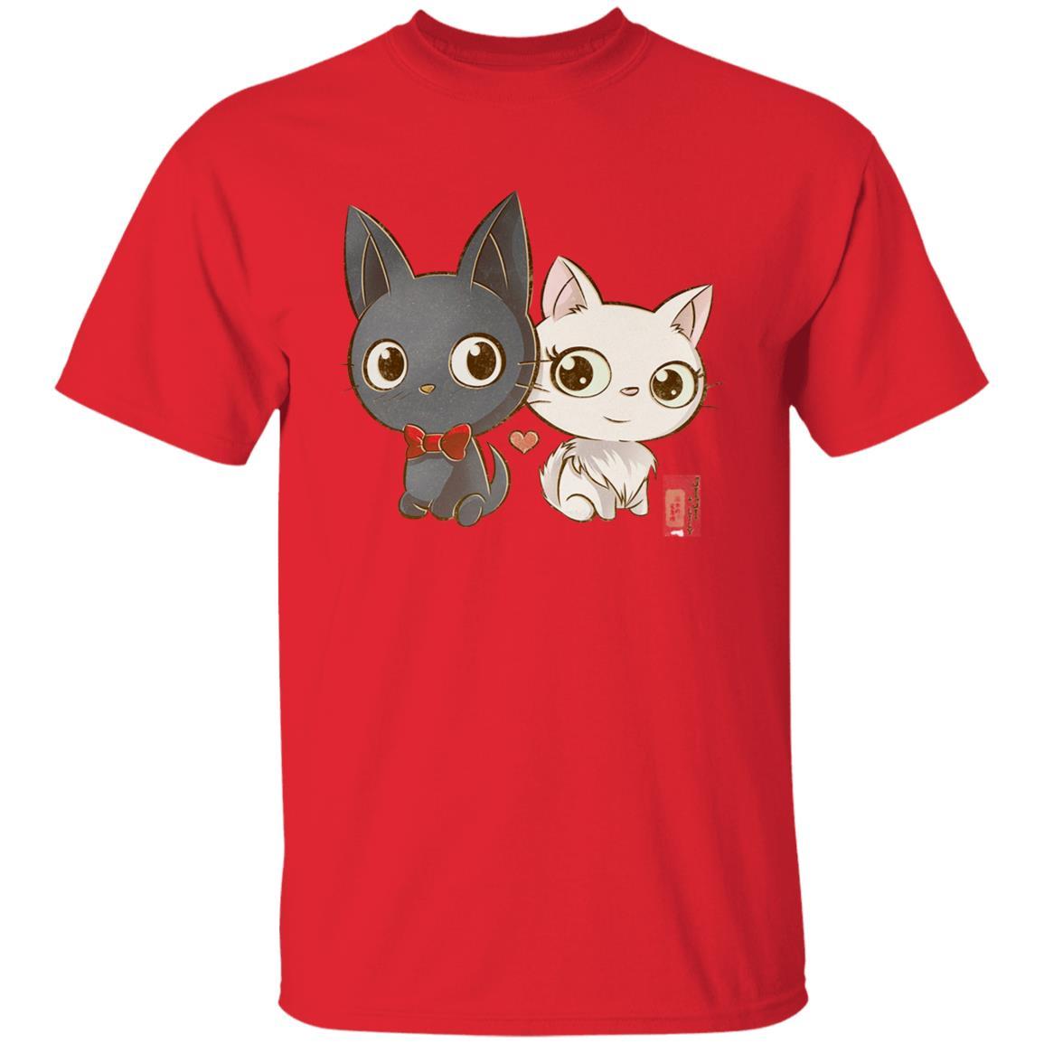 Kiki's Delivery Service – Jiji and Lily Chibi T Shirt