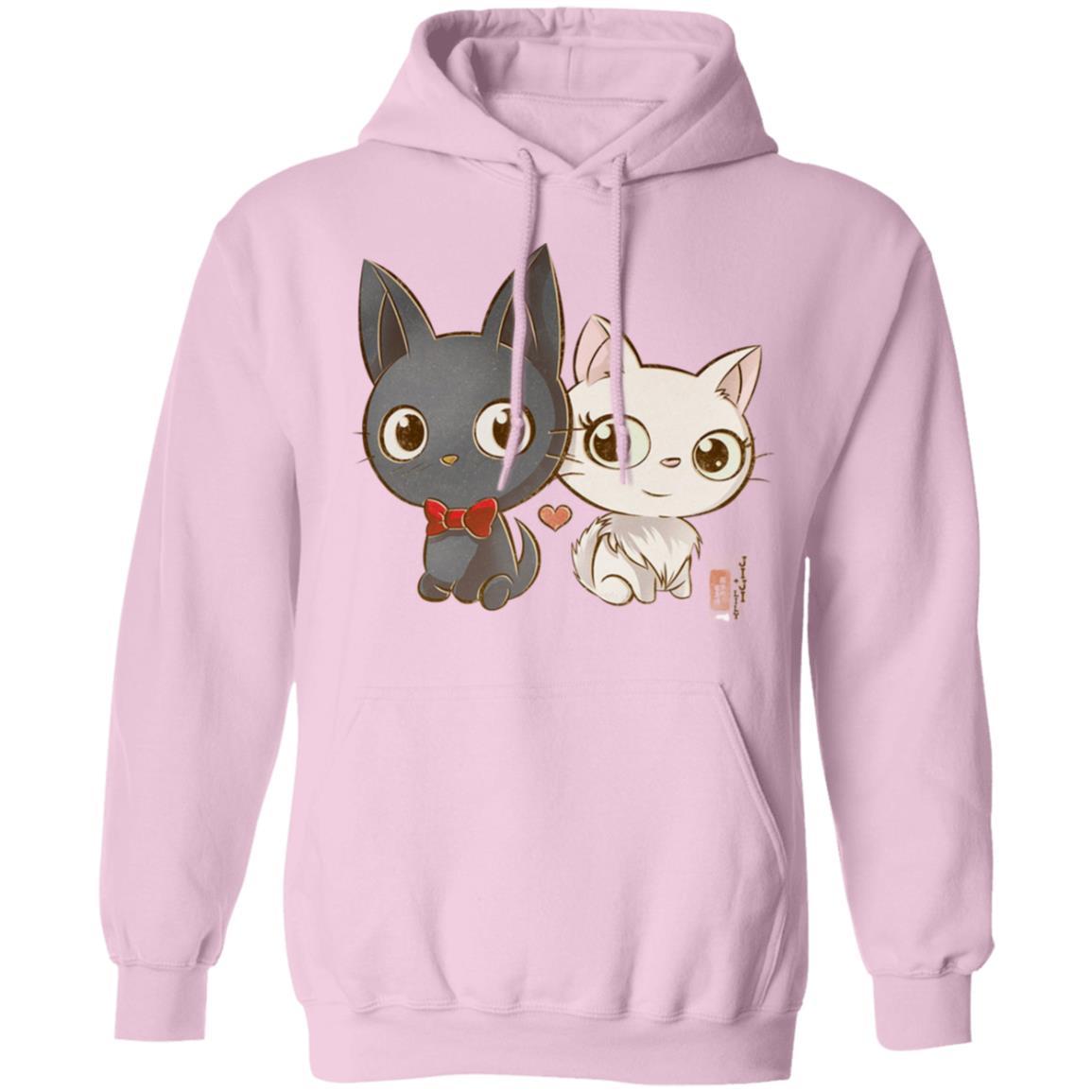 Kiki's Delivery Service – Jiji and Lily Chibi Hoodie