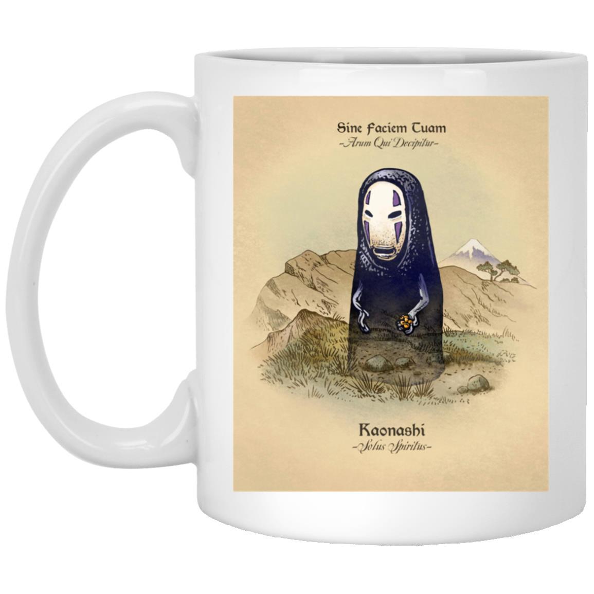 Spirited Away Lonely Kaonashi Mug