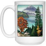Princess Mononoke Landscape Mug 15Oz