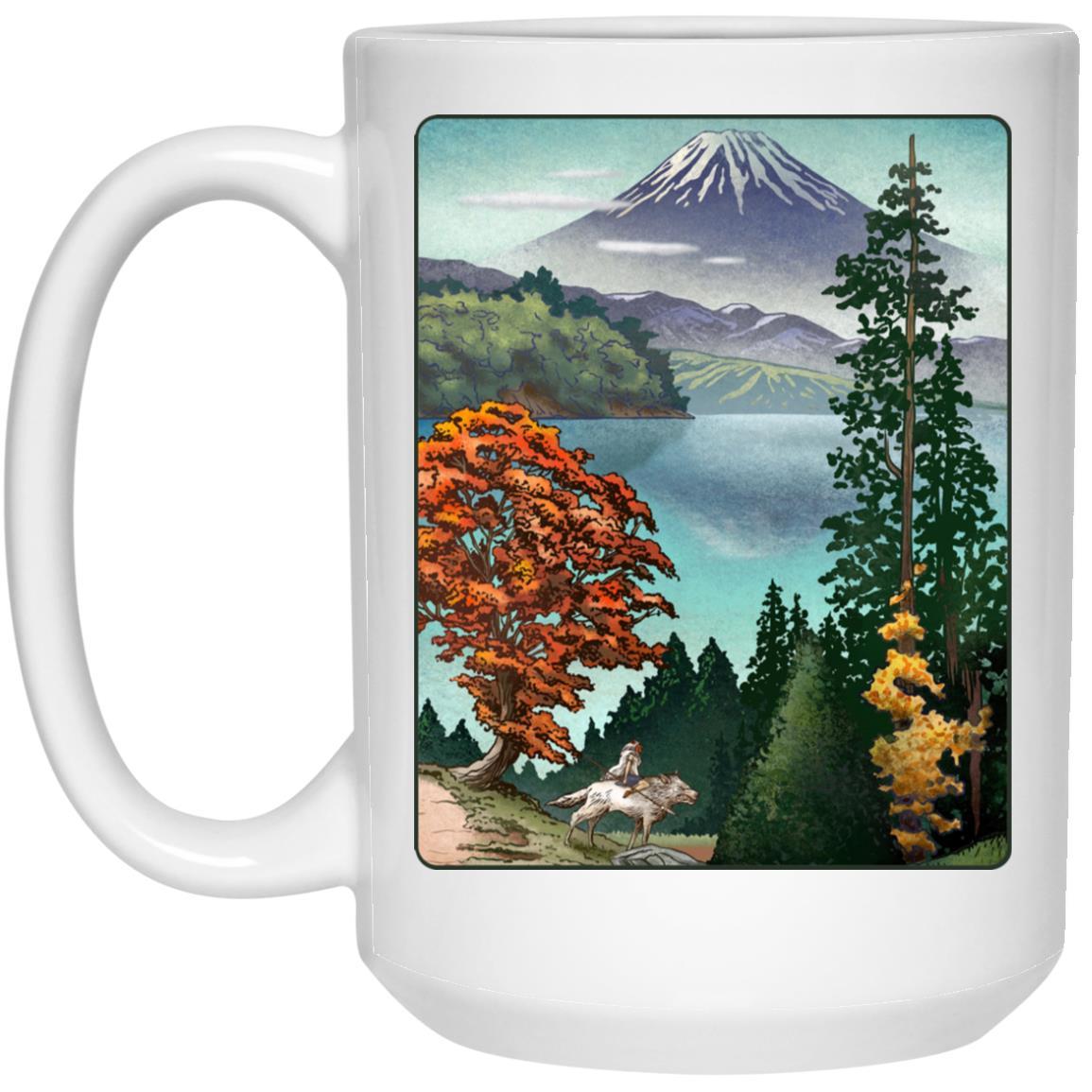 Princess Mononoke Landscape Mug