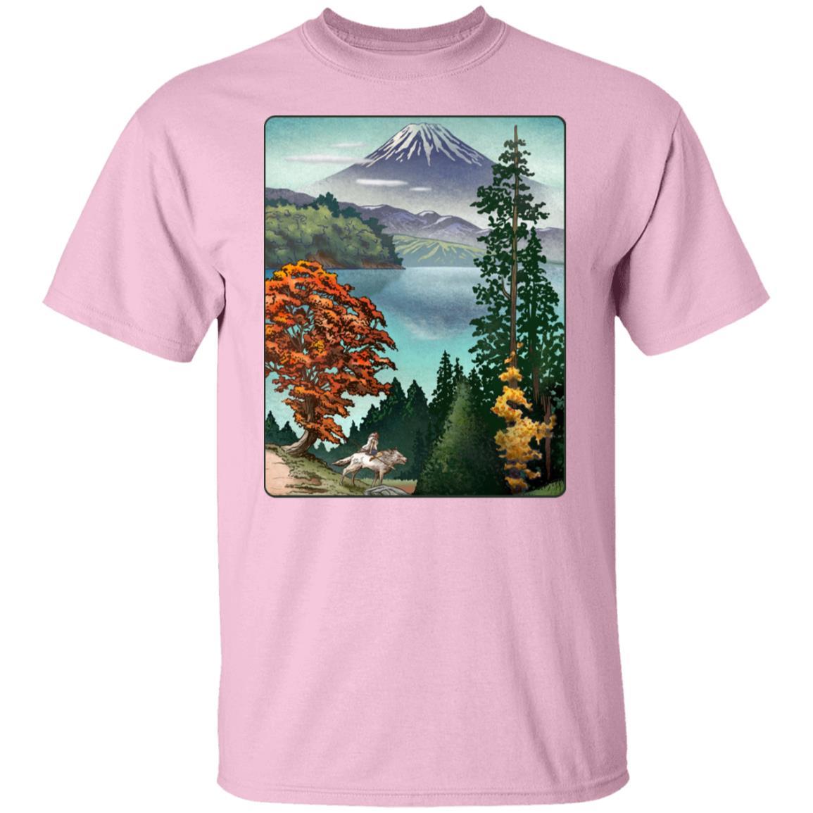 Princess Mononoke Landscape T Shirt