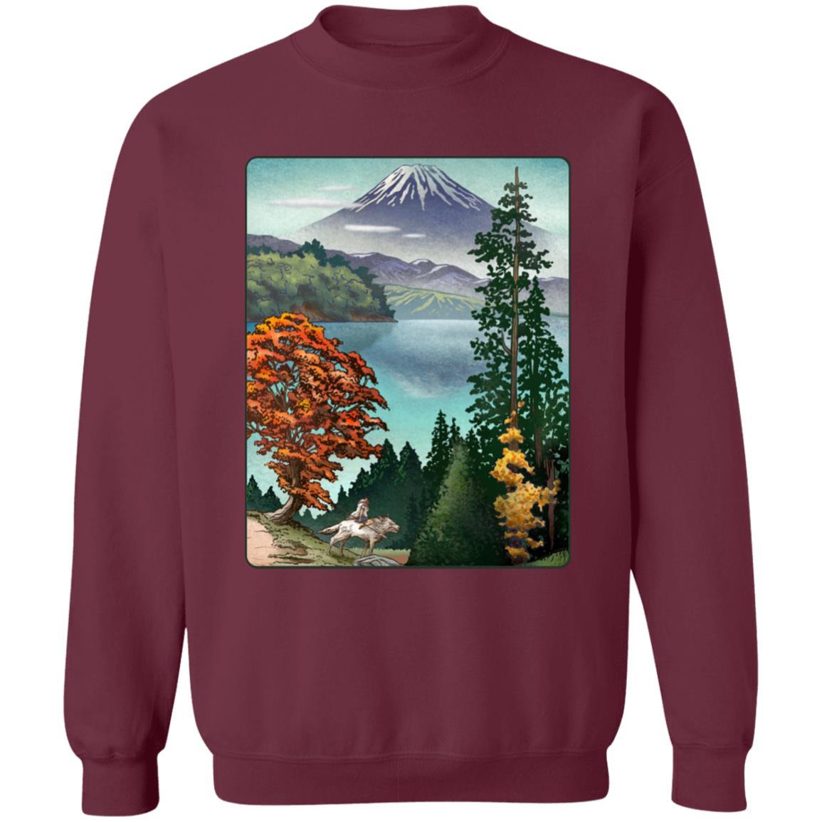 Princess Mononoke Landscape Sweatshirt