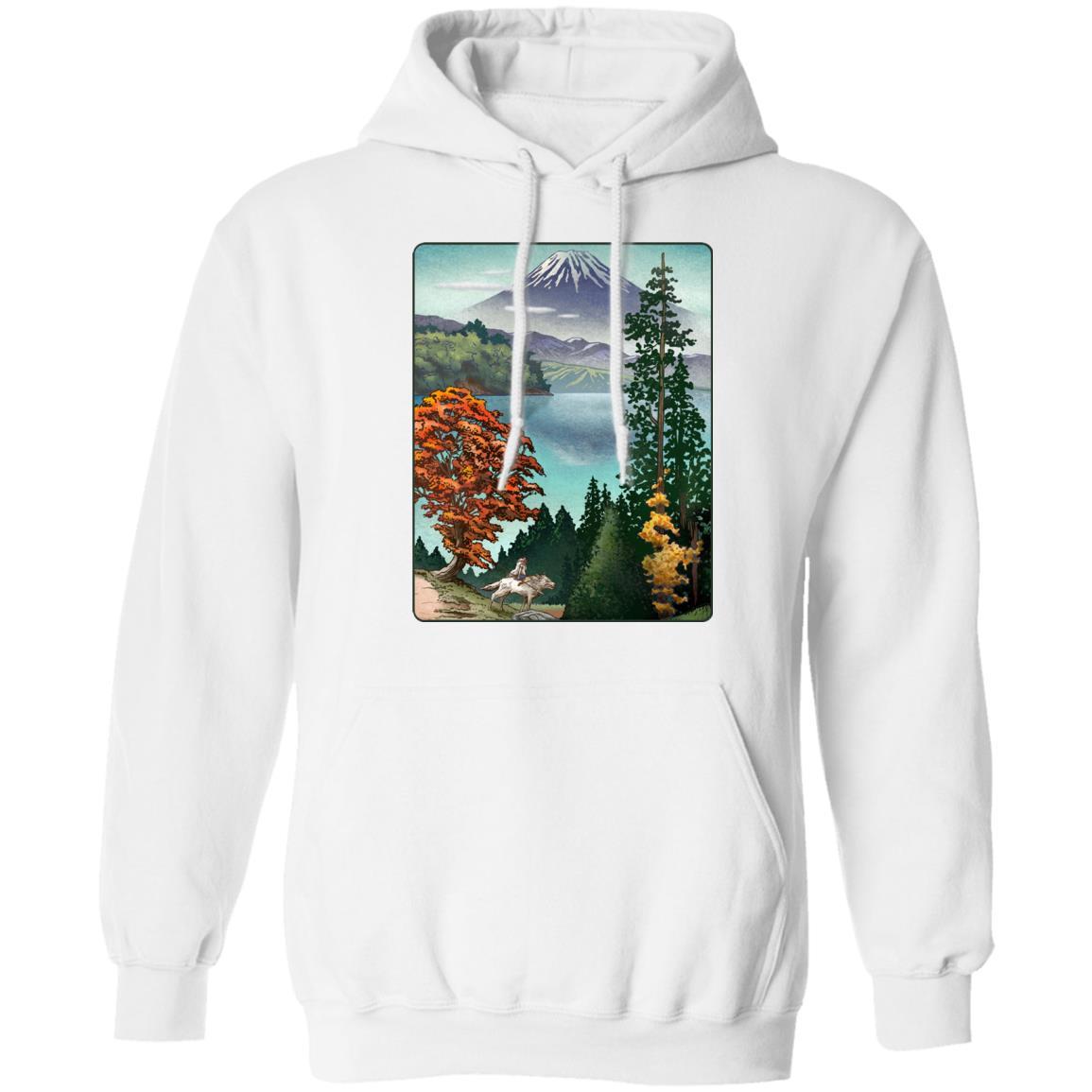 Princess Mononoke Landscape Hoodie