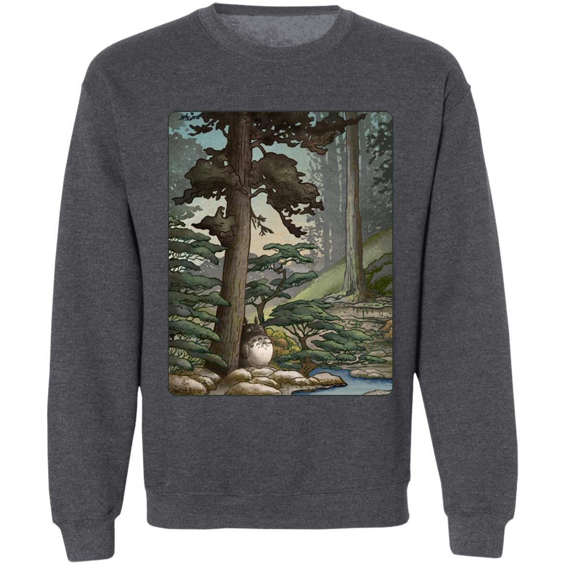 Totoro in the Landscape Sweatshirt
