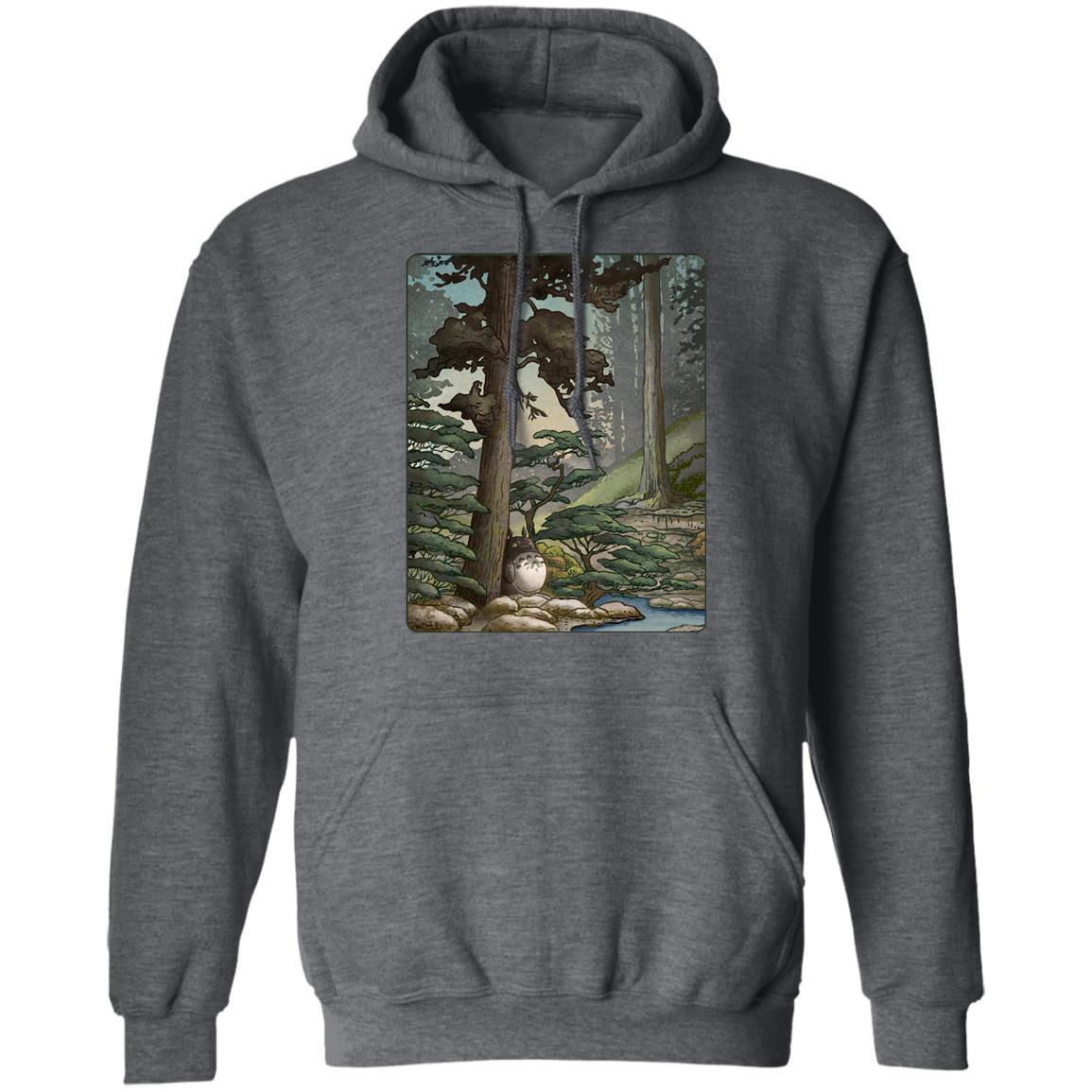 Totoro in the Landscape Hoodie