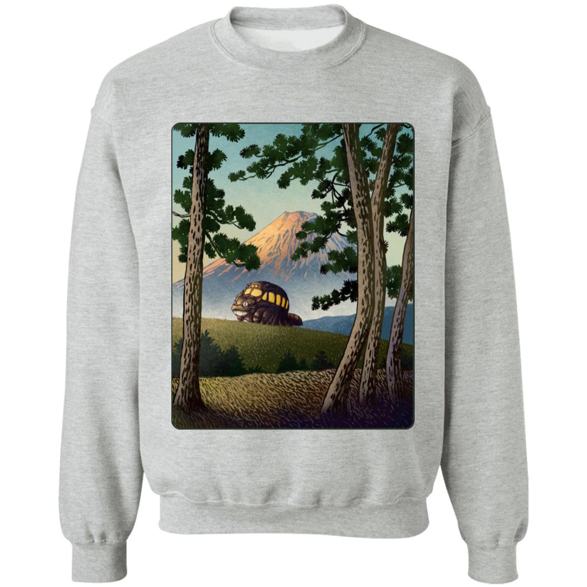 My Neighbor Totoro – Catbus Landscape Sweatshirt