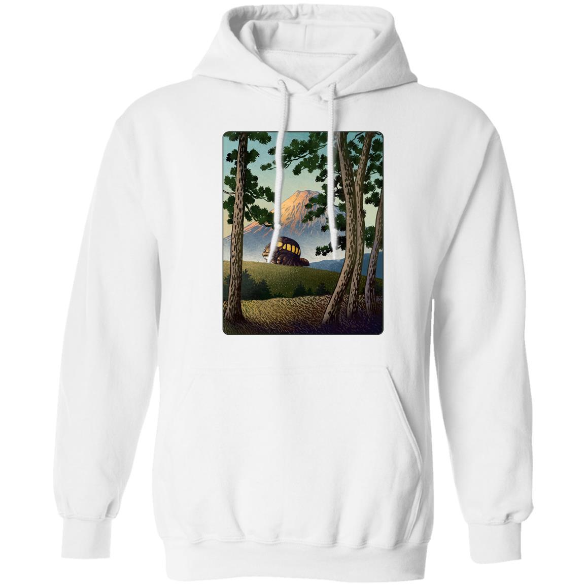 My Neighbor Totoro – Catbus Landscape Hoodie