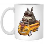 Totoro driving Batbus Mug 11Oz