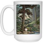 Totoro in the Landscape Mug 15Oz