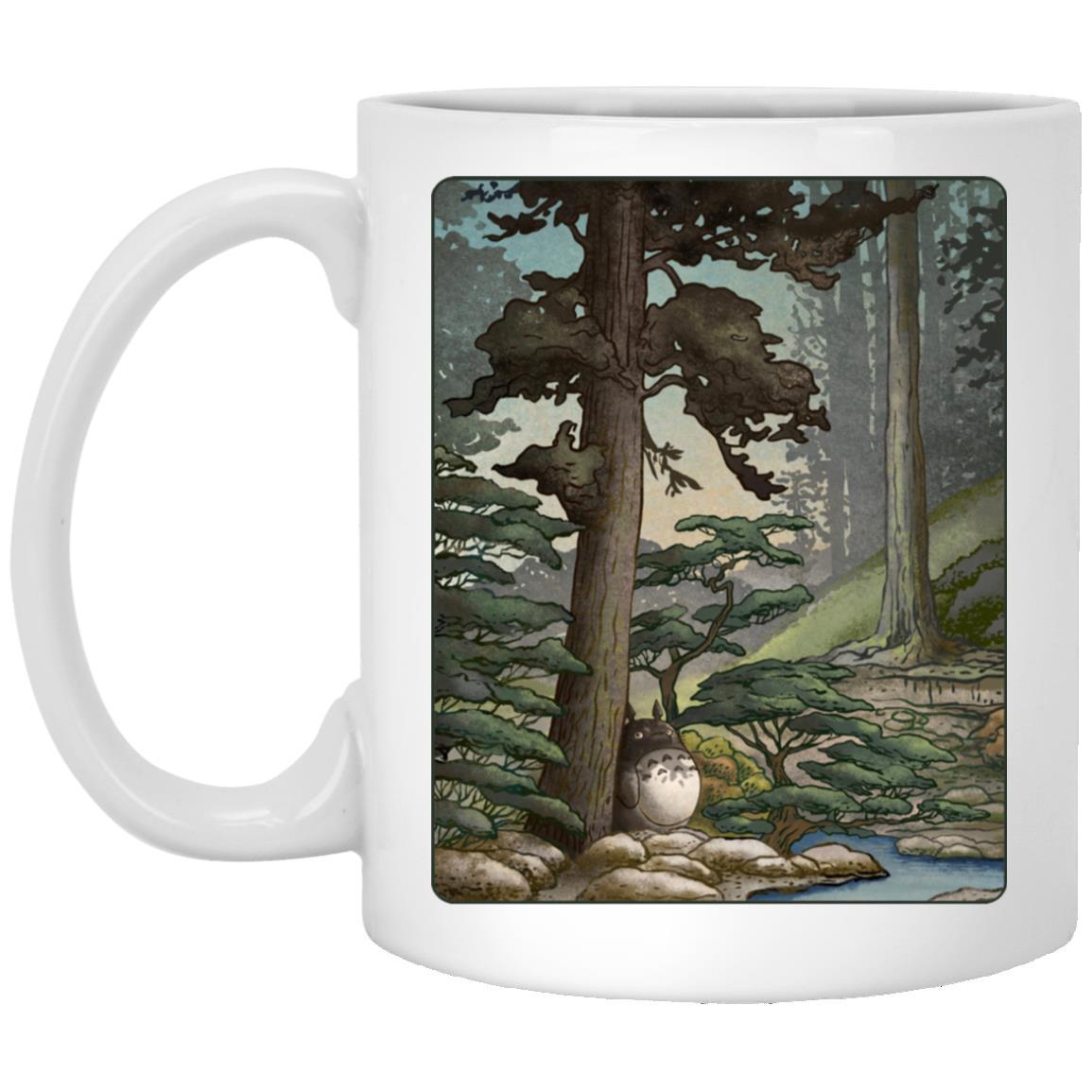 Totoro in the Landscape Mug