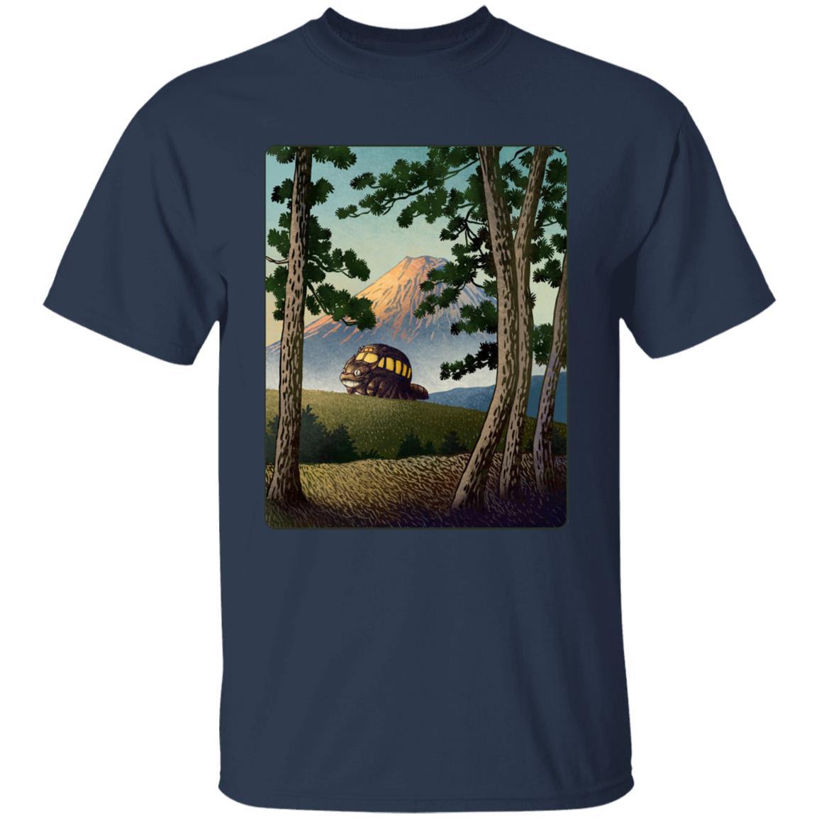 My Neighbor Totoro – Catbus Landscape T Shirt