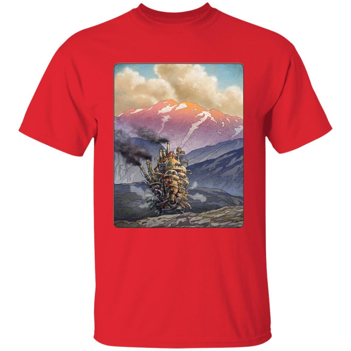 Howl's Moving Castle Landscape T Shirt