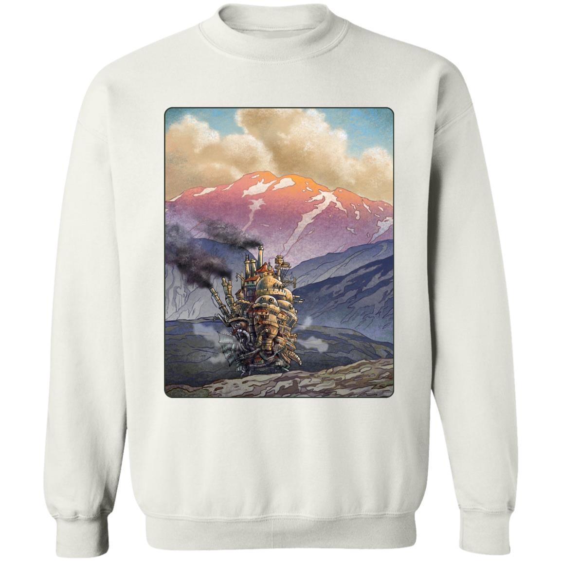 Howl's Moving Castle Landscape Sweatshirt