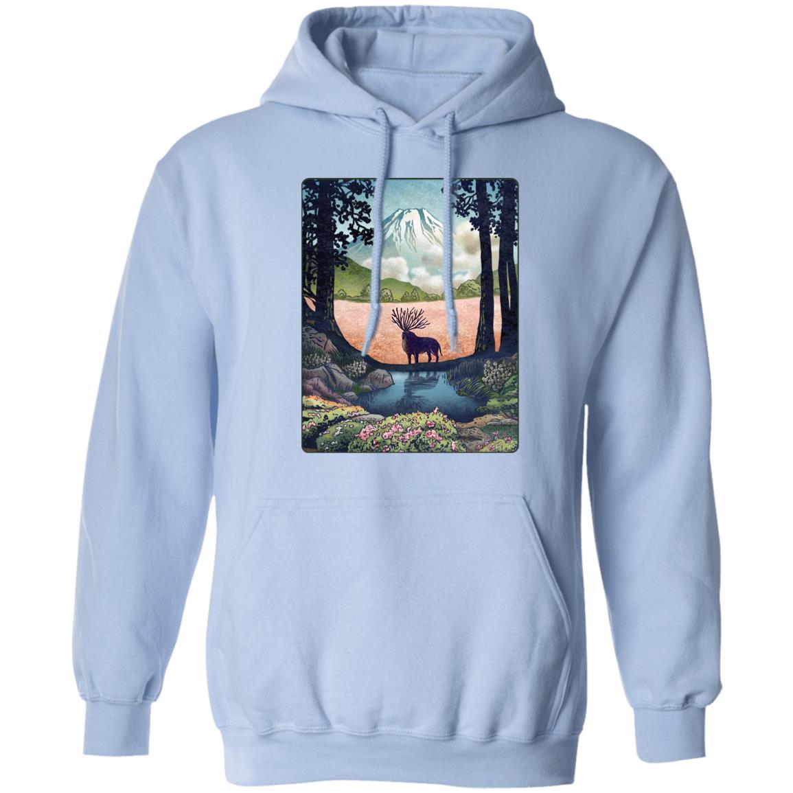 Princess Mononoke – Shishigami Day Time Landscape Hoodie
