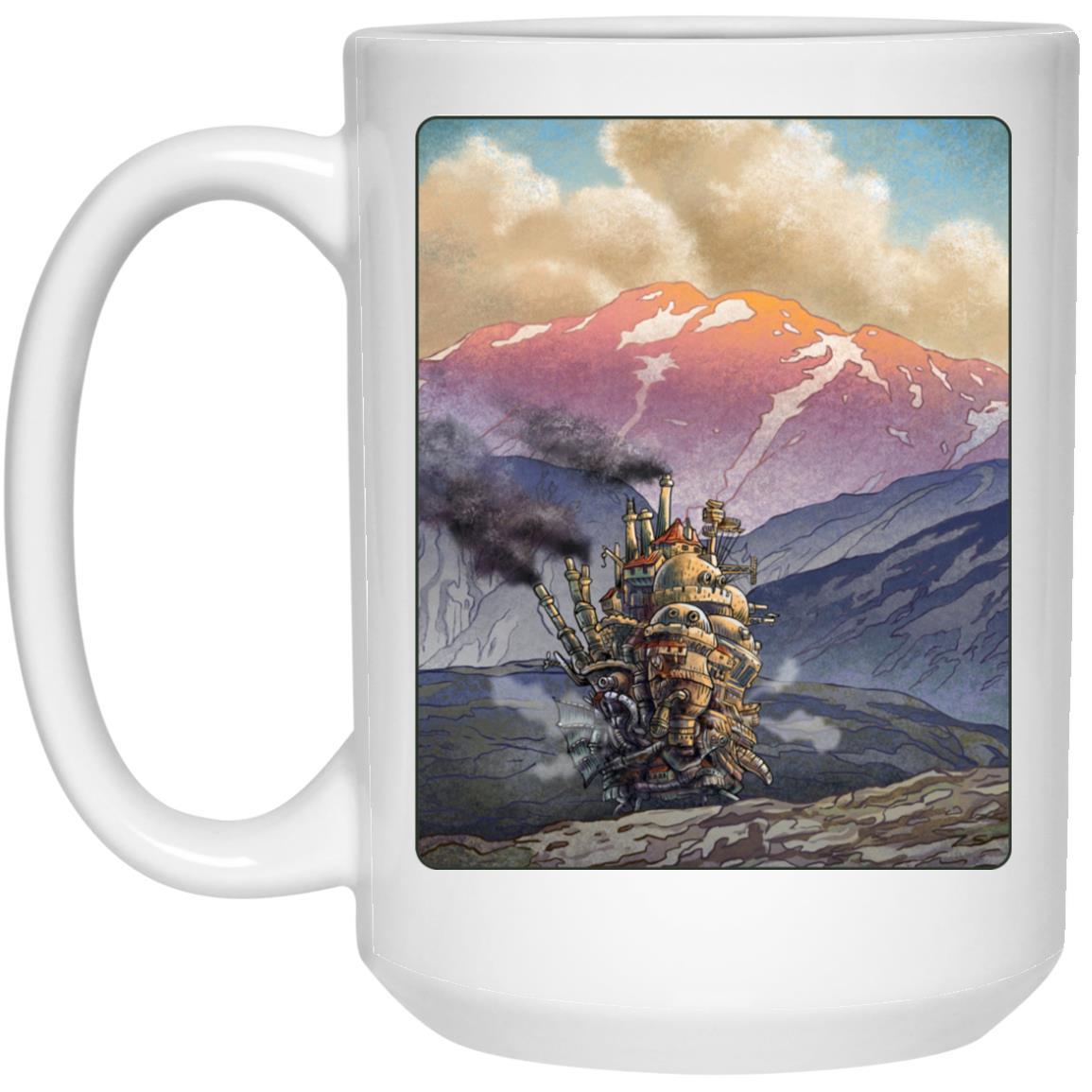 Howl's Moving Castle Landscape Mug