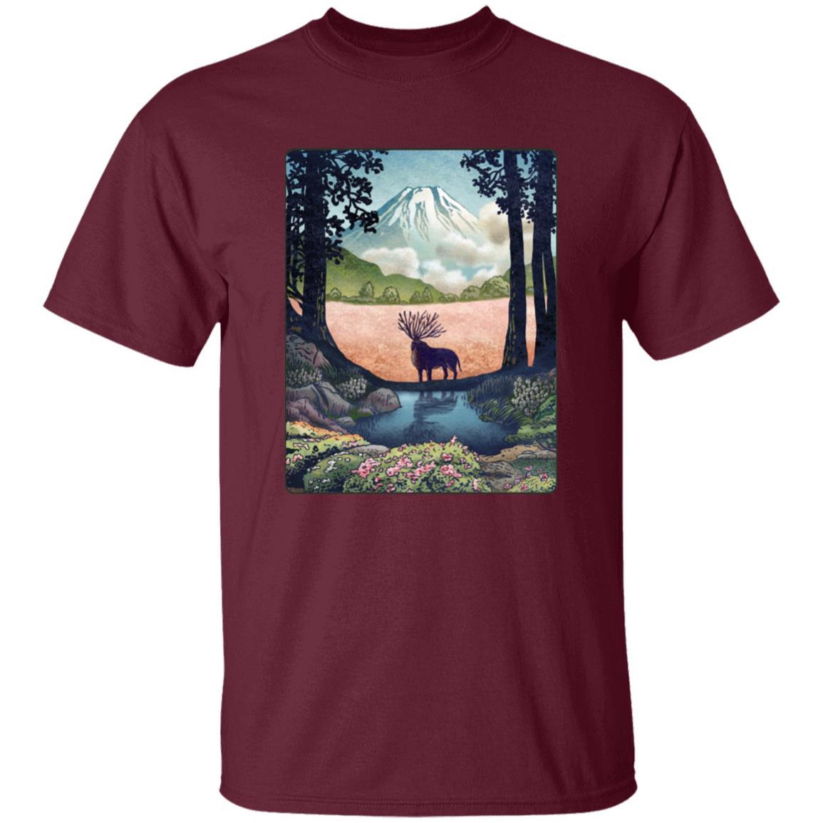 Princess Mononoke – Shishigami Day Time Landscape T Shirt