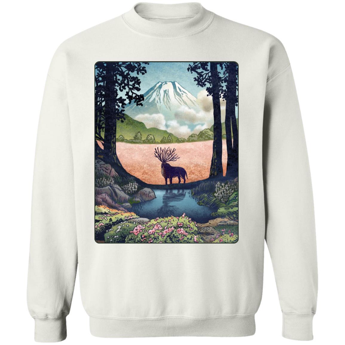 Princess Mononoke – Shishigami Day Time Landscape Sweatshirt