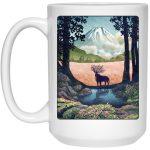 Princess Mononoke - Shishigami Day Time Landscape Mug 15Oz