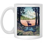 Princess Mononoke - Shishigami Day Time Landscape Mug 11Oz