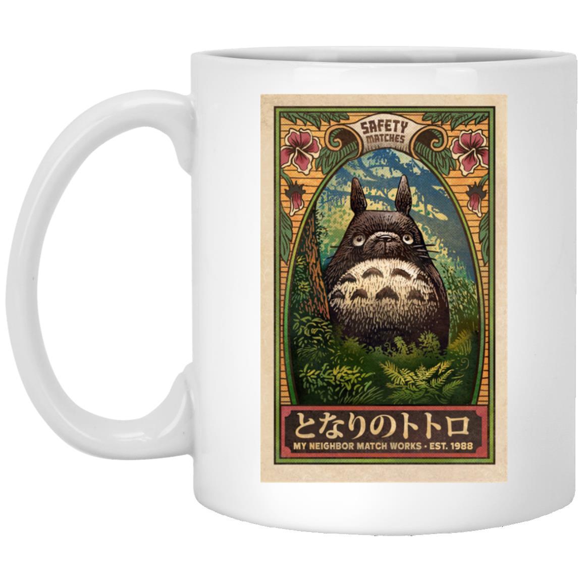 My Neighbor Totoro Safety Matches 1988 Mug