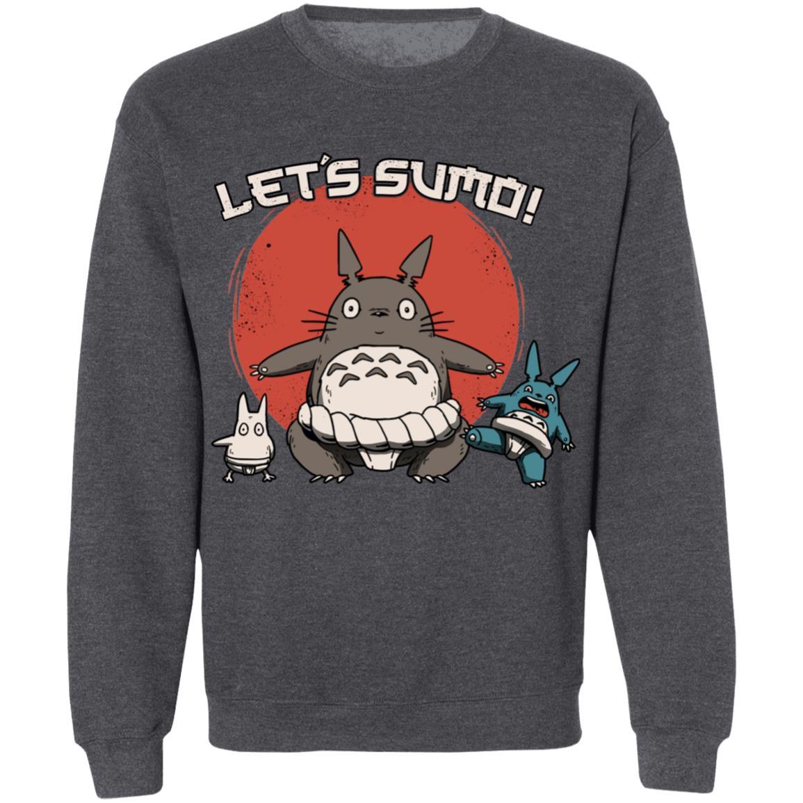 Totoro Let's Sumo Sweatshirt