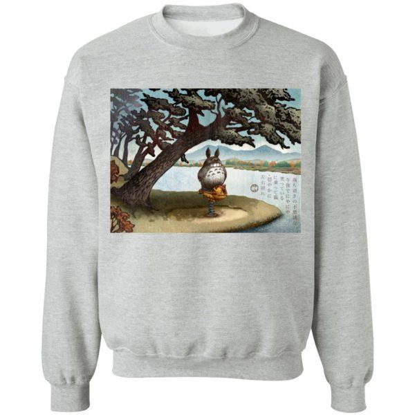 Totoro on the Catbus Spring Ride Sweatshirt