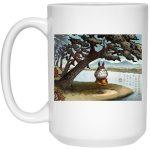 Totoro on the Catbus Spring Ride Mug 15Oz