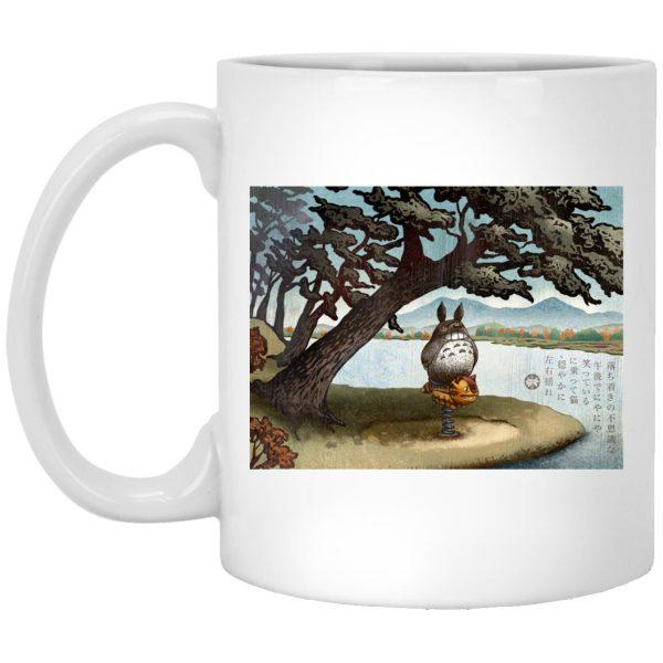 Totoro on the Catbus Spring Ride Mug