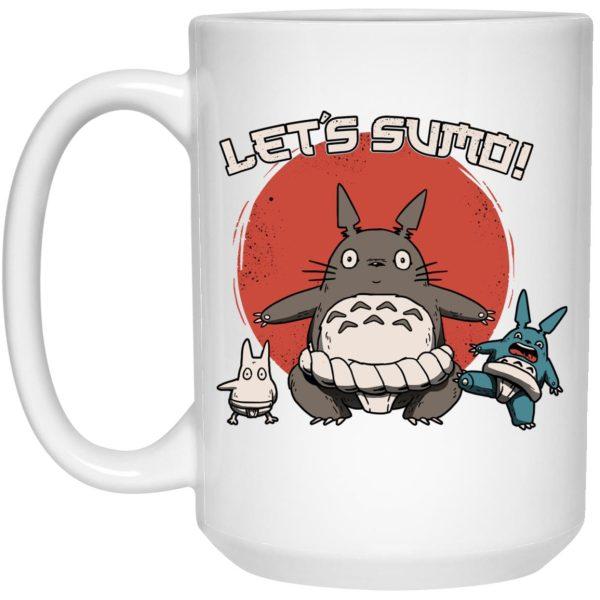 Totoro Let's Sumo Mug