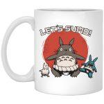 Totoro Let's Sumo Mug 11Oz