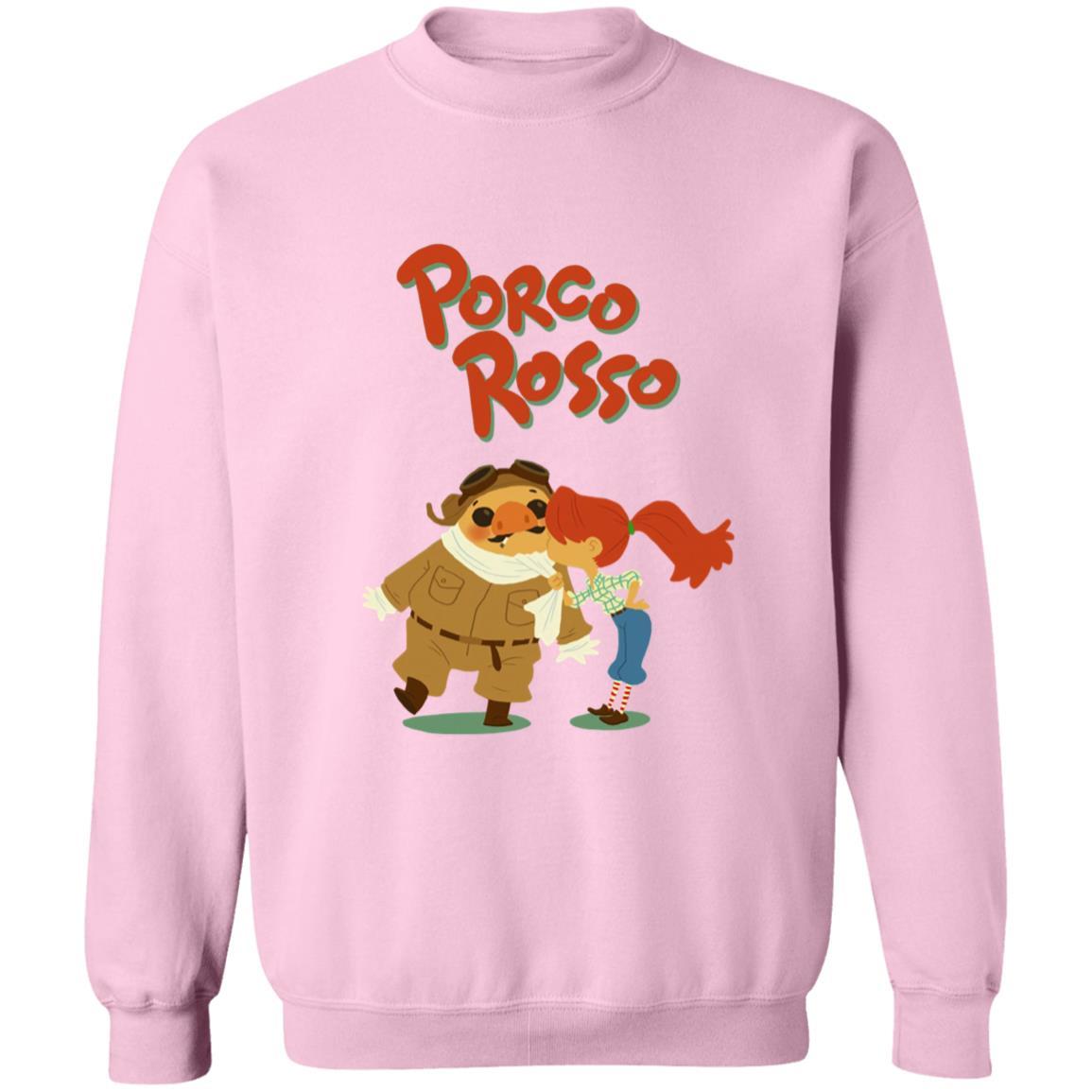 Porco Rosso – The Kiss Sweatshirt