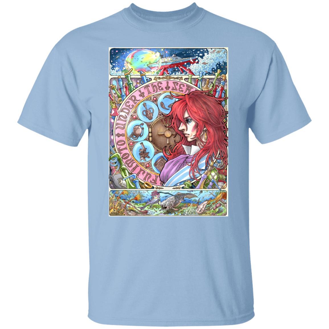 Ponyo's Father Portrait Art T Shirt