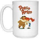 Porco Rosso - The Kiss Mug 15Oz