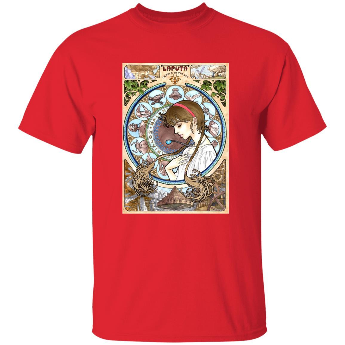 Laputa: Castle in The Sky – Sheeta Portrait Art T Shirt