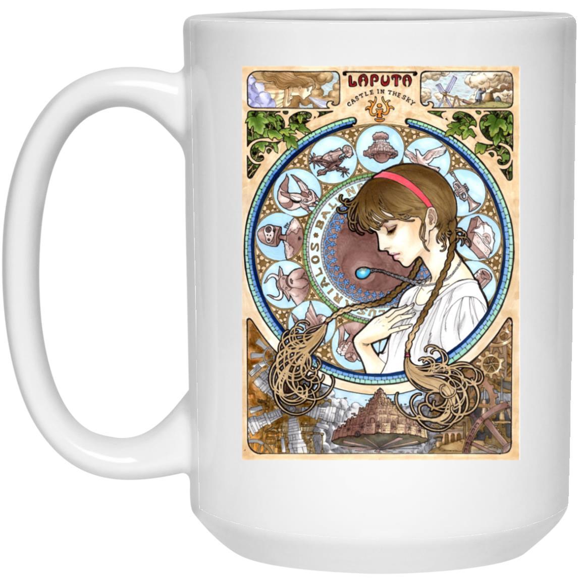 Laputa: Castle in The Sky – Sheeta Portrait Art Mug