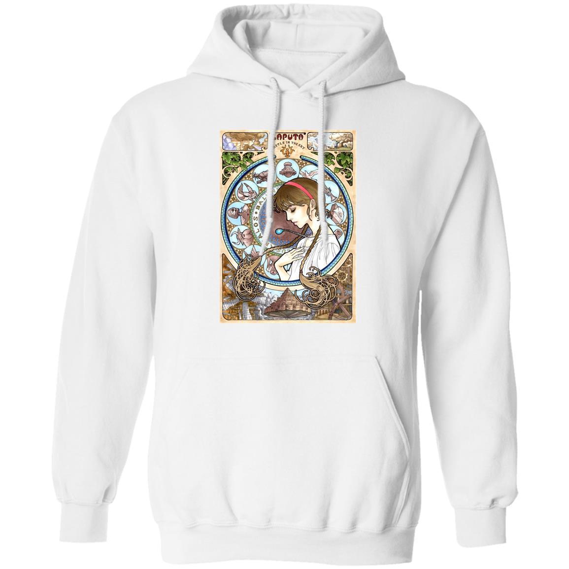Laputa: Castle in The Sky – Sheeta Portrait Art Hoodie