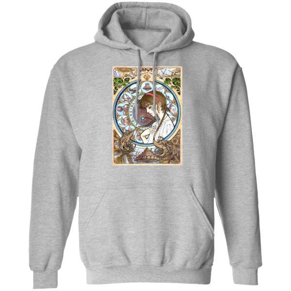 Laputa: Castle in The Sky – Sheeta Portrait Art Sweatshirt