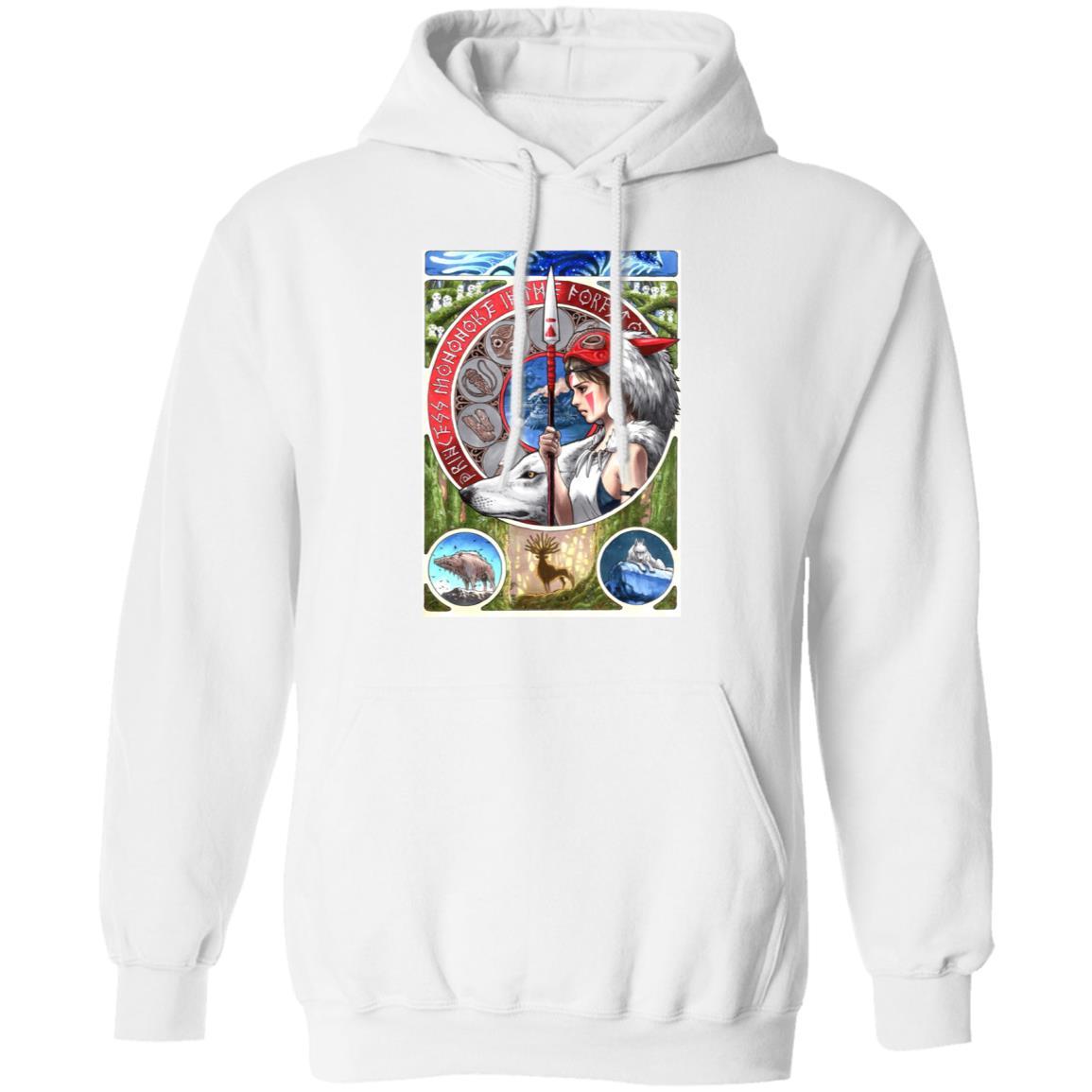 Princess Mononoke Portrait Art Hoodie