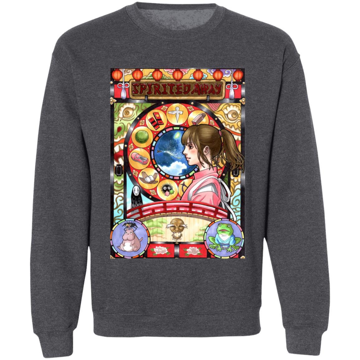 Spirited Away – Chihiro Portrait Art Sweatshirt