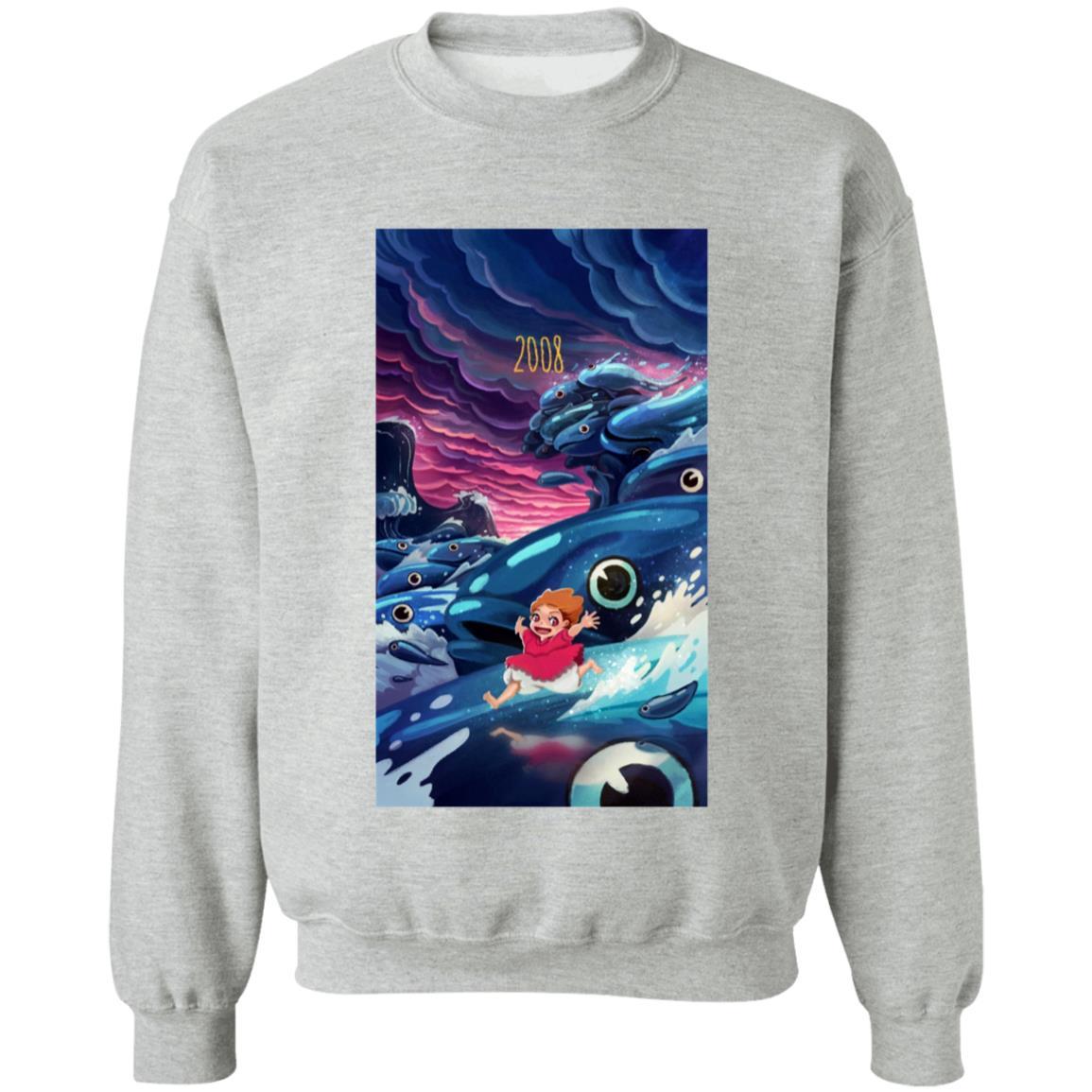 Ponyo 2008 Illustration Sweatshirt
