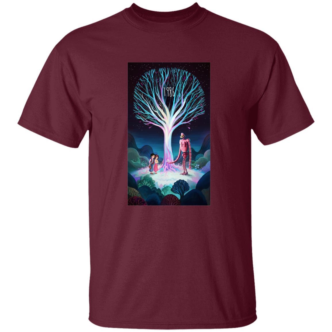 Laputa: Castle in The Sky 1986 Illustration T Shirt