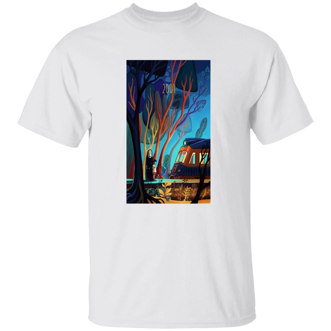 Spirited Away 2001 Illustration T Shirt