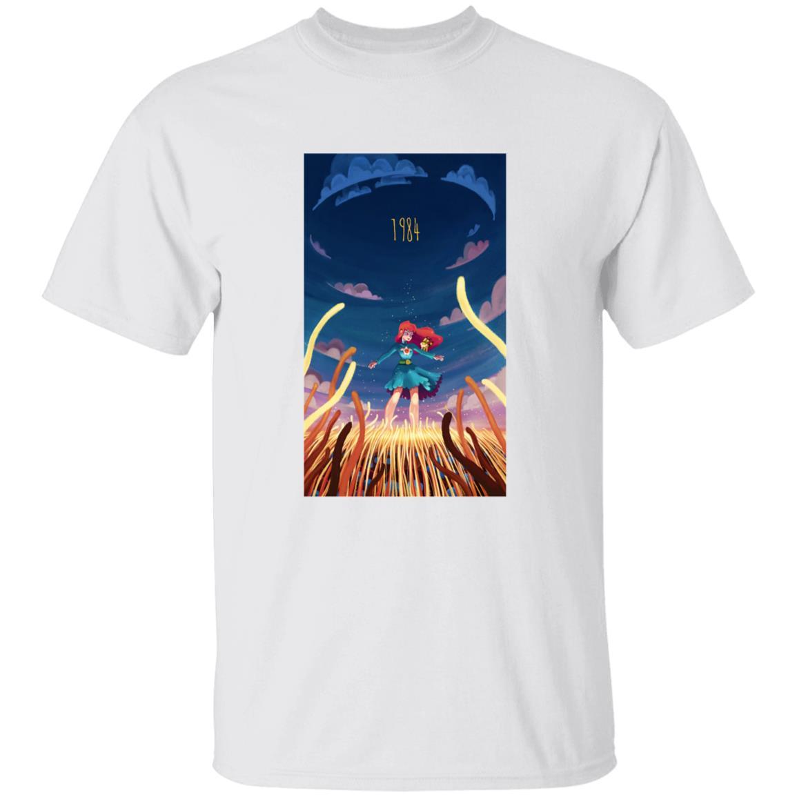 Nausicaa 1984 Illustration T Shirt