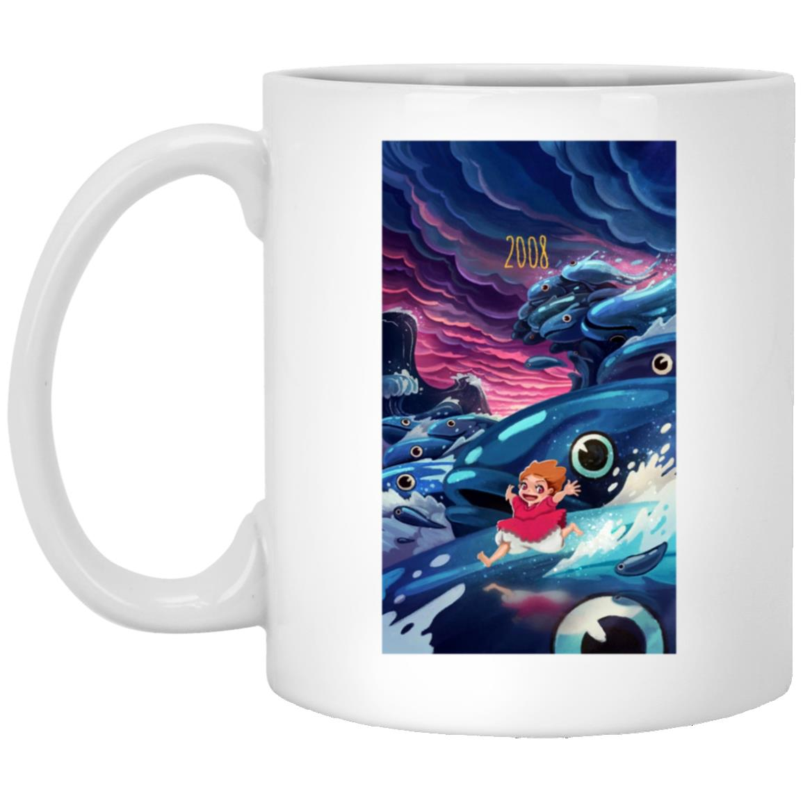 Ponyo 2008 Illustration Mug