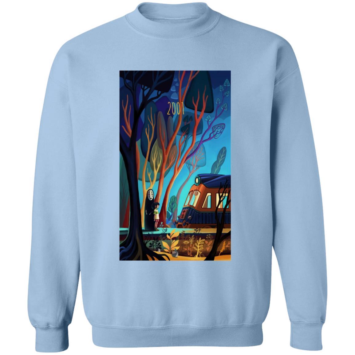 Spirited Away 2001 Illustration Sweatshirt